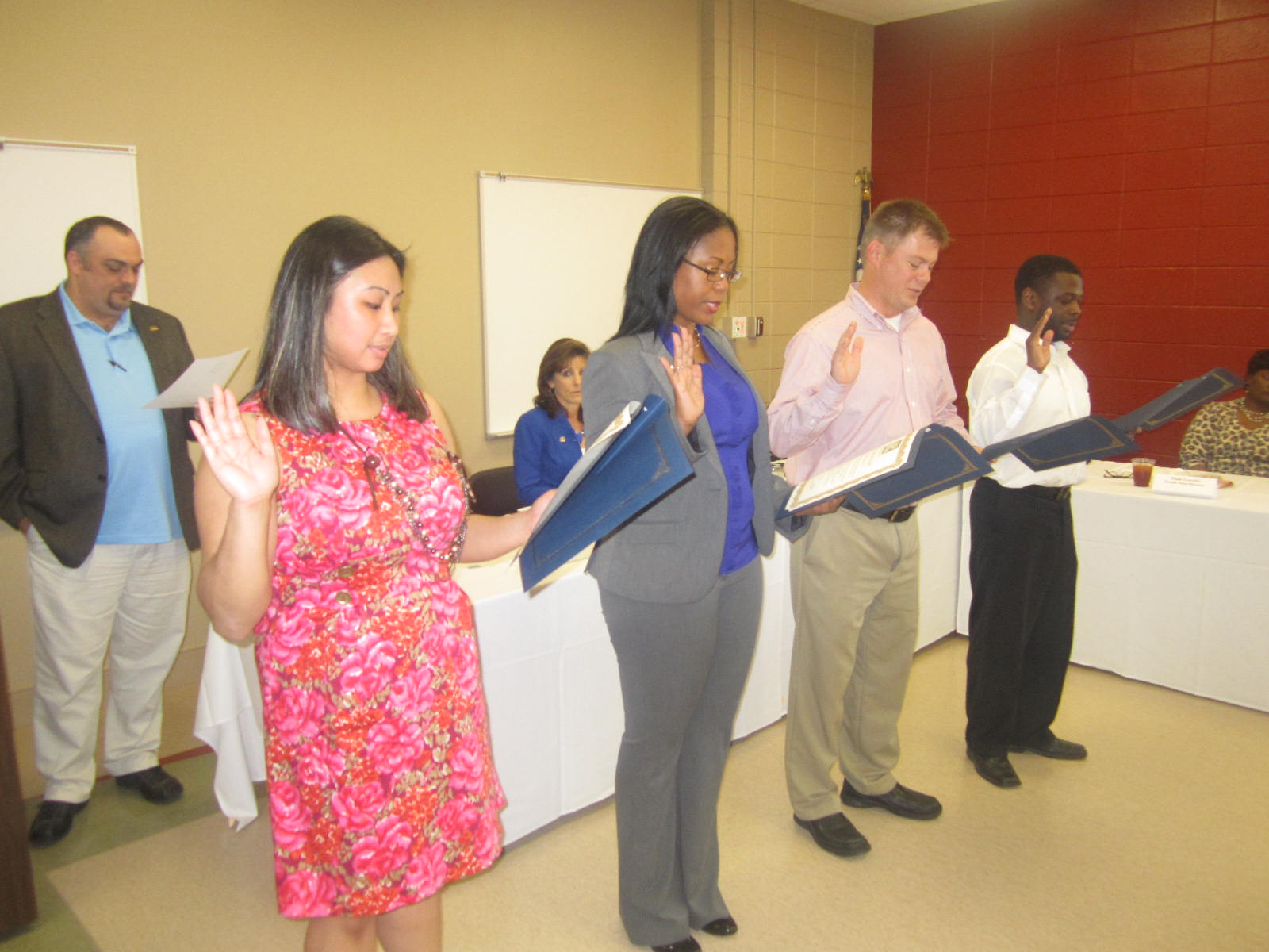 New REALTORS are Sworn in January 2013